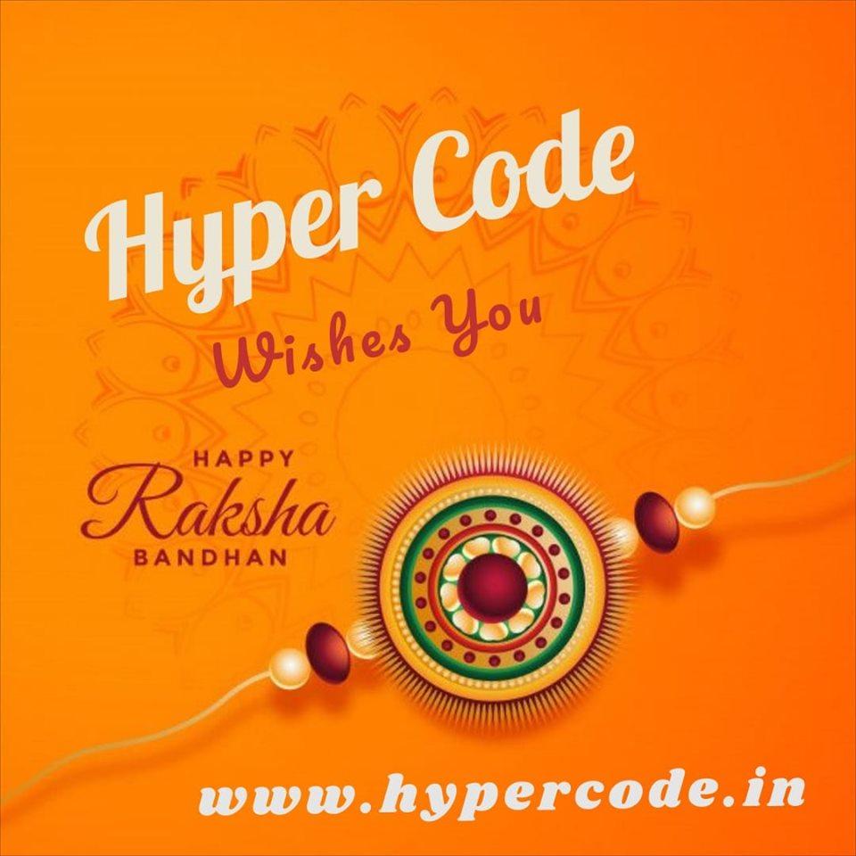 Hyper Code Wishes you Happy Raksha Bandhan 2019