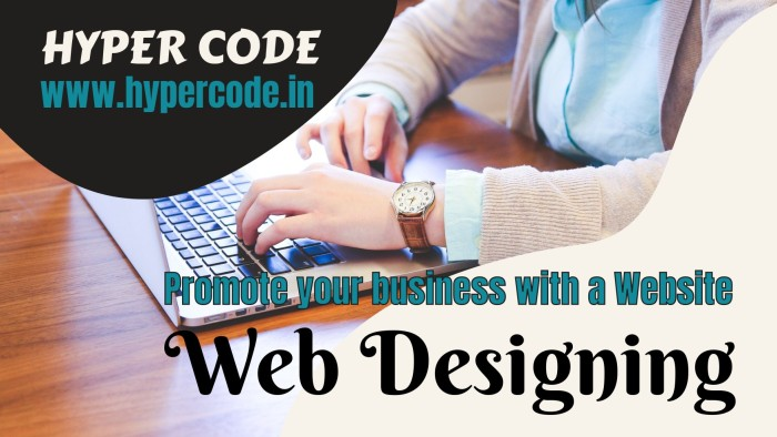 Promote your business with a Website